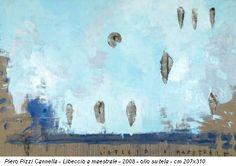 Piero Pizzi Cannella, Libeccio a maestrale, 2008. Olio su tela 207 x 310 cm
