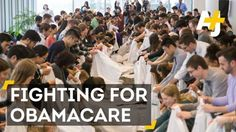 Hundreds of medical students across America are protesting to save the Affordable Care Act #news #alternativenews