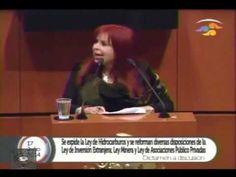 """A Peña, """"lo tienen al palo y sin zacate"""": Layda Sansores.VALIENTE  SENADORA........................DIFUNDE."""