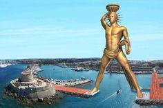 AELR NEWS: Idolatría: Quieren reconstruir la estatua de Helio...
