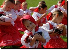 children s folklore ensemble from Slovakia