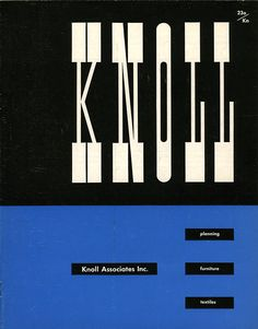 Matter Knoll Logo, ca. 1947 | Knoll Inspiration