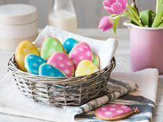 So bunt wie der Frühling: Farbenfrohe Ostereikekse