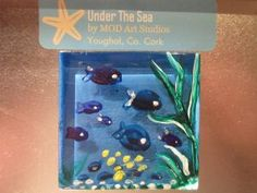 Category: Painted Glass Magnets | MOD ART STUDIOS Glass Magnets, Art Studios, Under The Sea, Glass Art, Artist Studios
