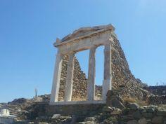 sanctuary of apollo, Delos, Greece