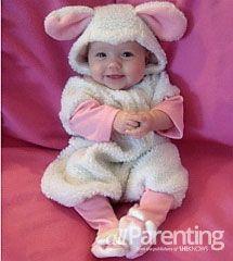 Baby #Halloween costume idea: Lamb! So warm, cozy, and cute! Love!