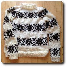 DIY Sweater med Mønster a la 'Forbrydelsen' The Killing (Dame) ~ Strik Med