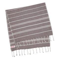 Hammam Bath, Hair, Hand  Fouta Towel, Moroccan Cinnamon, Small (100 cm x 50cm / 39.3'' x 19.7'')