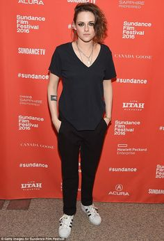 Low key K-Stew: On Sunday, Kristen Stewart dressed down for an appearance at the premiere ...