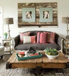 Pallet+project+wall+art_inspiring+design.JPG 497×553 pixels