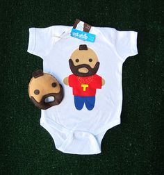 Looks Like Mr. Tee... Infant Bodysuit and Baby by micielomicielo, $33.50