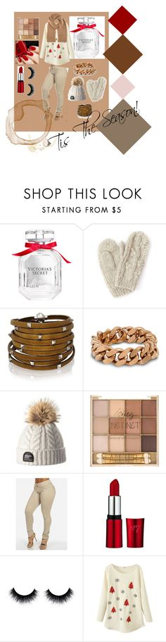 """""""'Tis the Season!"""" by motherlee on Polyvore featuring Victoria's Secret, Bibico, Sif Jakobs Jewellery, STELLA McCARTNEY and Maison Margiela"""