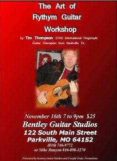 Music Store Kansas City with Instruments, Music Lessons, and Repair : Bentley Guitar Studios Ukulele, Guitar, Music Store, Studios, Workshop, Atelier, Work Shop Garage, Guitars