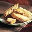Anise BiscottiAnise Biscotti -- easy, look dressy, and not as heavy as other holiday cookies. Biscotti Cookies, Biscotti Anise, Soft Biscotti Recipe, Anise Cookies, Cake Cookies, Italian Cookies, Italian Desserts, Italian Recipes, Crack Crackers