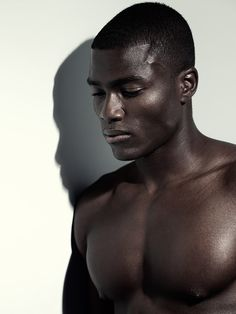 black Male Model Face Shot | Remi Alade-Chester - the Fashion Spot