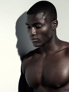 black Male Model Face Shot | Remi Alade-Chester - the Fashion Spot