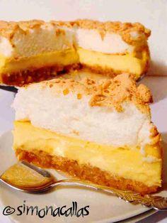 Meringue Desserts, No Cook Desserts, Sweets Recipes, Baking Recipes, Cake Recipes, Scottish Recipes, Turkish Recipes, Romanian Desserts, Romanian Recipes