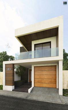 Fachada Contemporánea #1  #Arquitecturacontemporane #Arquitecturamoderna #Remodelación