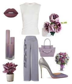 """""""Untitled #1399"""" by kotnourka ❤ liked on Polyvore featuring Chesca, Alexander Wang, Christian Louboutin, Rebecca Minkoff, Lime Crime and Torre & Tagus"""