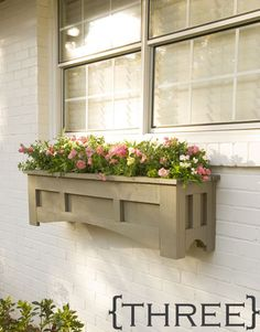 10 DIY Window Box Planter Ideas with Free Building Plans -