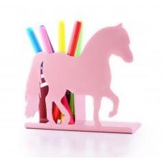 pony pencil pot