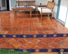 saltillo tile floor - Google Search