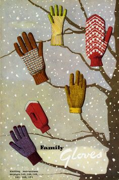 from knitting illustrated by margaret murray and jane koster, (london: odhams press, 1948), via tin trunk