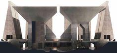 Louis I. Kahn | Hurva Synagogue, 1967-74 Jerusalem, unbuilt