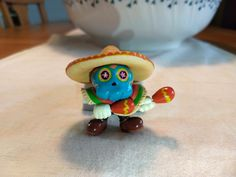 I made a clay Tostarenan from Super Mario Odyssey! http://bit.ly/2lnzap3 #nintendo