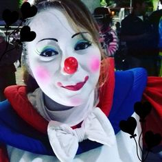 Clown Pics, Female Clown, Clowns, Halloween Face Makeup, Goth, Girls, Fictional Characters, Makeup, Gothic