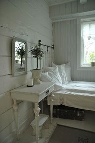 White Rustic Bedroom More