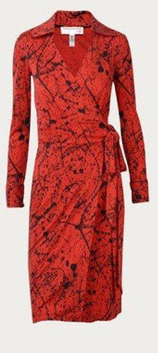 Diane von Furstenberg Wrap Dress 1973