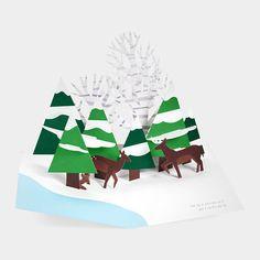 Sabuda. Outstanding Pop Up Holiday Cards