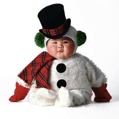 baby asian snowman