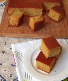 Jyoti's Pages: Egg less Vanilla Cake (With Condensed Milk and Coke)