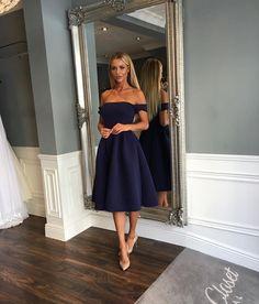 a5bf3d3360 Cari Mini Annie Dress in Navy