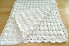 """Crochet White Baby Blanket Shell Pattern Handmade Girl Boy Great Gift Baptism FOR SALE • £39.96 • See Photos! Money Back Guarantee. Hello, and welcome to my auction. WHITE BABY BLANKET, HANDMADE, HAND CROCHET WITH SOFT BABY YARN. The COLOR IS WHITE. The size is APPROXIMATELY 33"""" X 35"""". This blanket is 290930092982"""