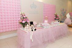 Dicas de decoração de mesa de doces para festa com tema bailarina