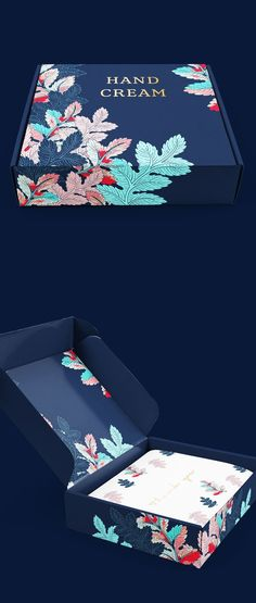 Creative packaging, packaging design ideas and inspiration, floral packaging, box design, graphic design. Source by fuziondesign ideas creative Luxury Packaging, Soap Packaging, Brand Packaging, Design Packaging, Product Packaging, Custom Packaging, Brochure Mockup, Design Brochure, Branding Design