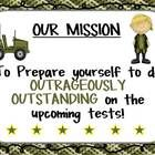 This file is EDITABLE!  I hang this up during our Boot Camp Test Preparation....