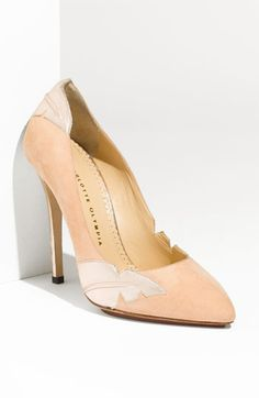There's something about these that I love... Maybe its because they're the 'Ocean Drive' Pump by Charlotte Olympia
