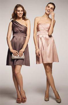 Jenny Yoo Collection Hammered Satin Strapless Dress via @Nordstrom #wedding
