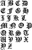Cross Stitch Bookmark Patterns Mideival | ... at Cross Stitch For Free -- get your free cross stitch patterns here