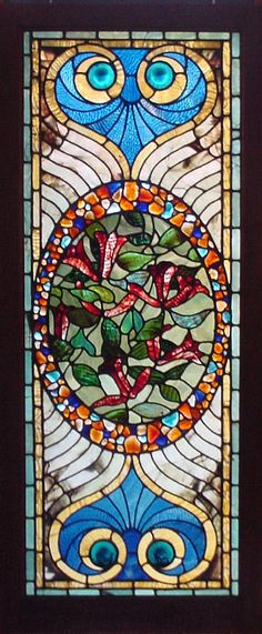 Antique American Stained Glass