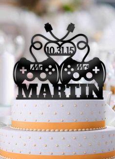 Savory magic cake with roasted peppers and tandoori - Clean Eating Snacks Wedding Cake Decorations, Wedding Cupcakes, Wedding Cake Toppers, Gamer Wedding Cake, Cake Centerpieces, Decor Wedding, Chic Wedding, Fall Wedding, Date Cake