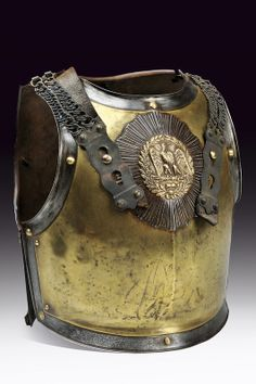 A Carabiniere's cuirass provenance:France dated 19th Century