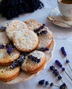 Ciasteczka Lawendowe
