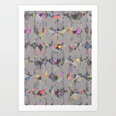 Butterflies Art Print by Georgiana Paraschiv - $18.00