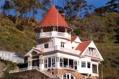 Holly House, Avalon.   Catalina Island, CA.   The story about it's construction is a facinating story of love and love lost.