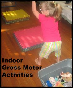 Obstacle course for toddlers gross motor skills active for Gross motor activities for 1 year olds